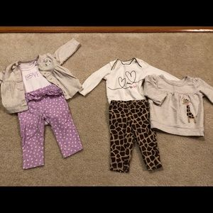 Matching outfit sets